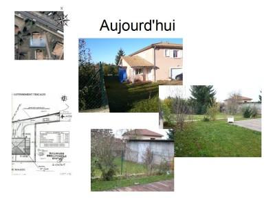 Projet conception jardin en 3D avec SketchUp : Le jardin aujourd'hui