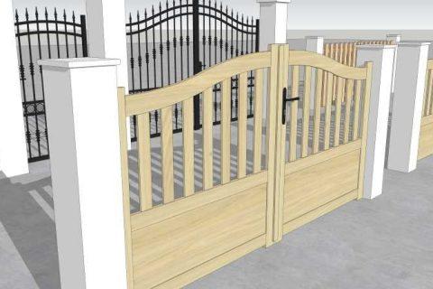 Formation SketchUp portail jardin