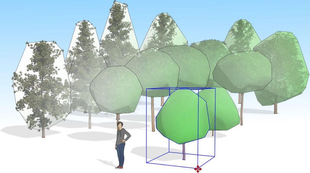 Utiliser SketchUp pour Architecture paysage et Conception jardin